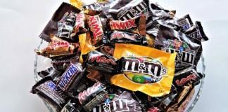 Halloween candy