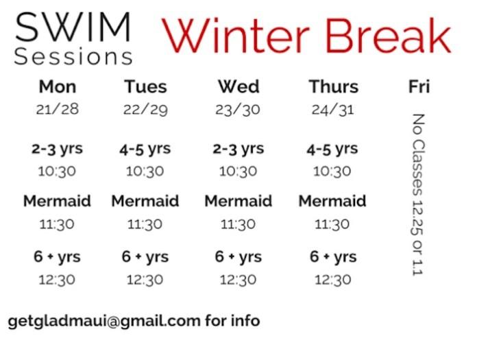 Maui swimming classes
