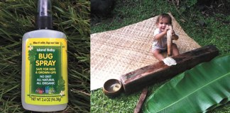 island baby bug spray