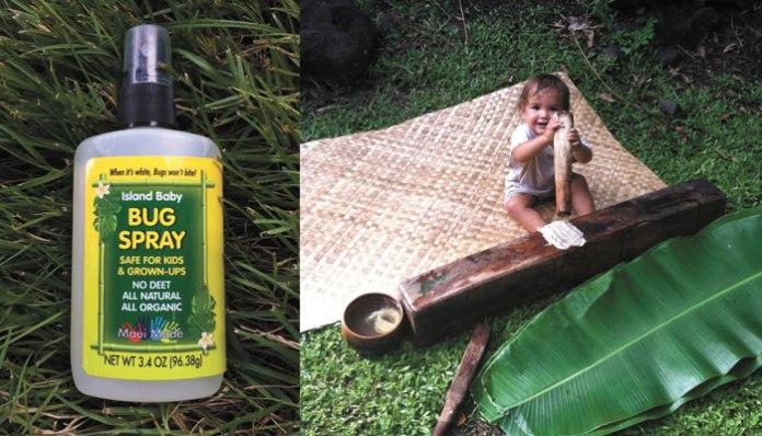 island baby bug spray