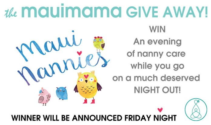 Maui nannies give away