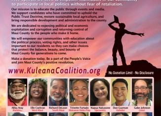 Kuleana Coalition change