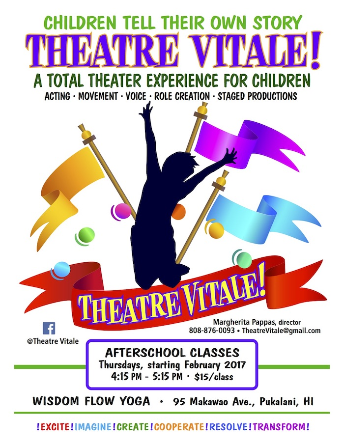 Maui youth theater program