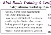 Birth Doula Workshop Maui