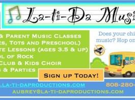 Music classes Maui