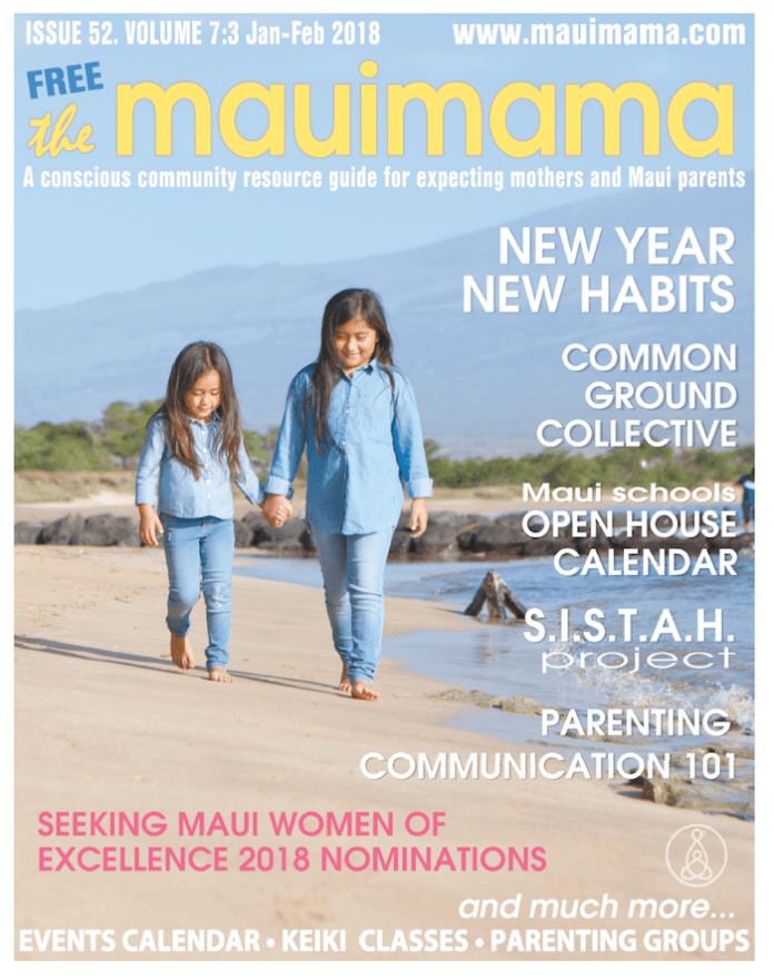 Mauimama front cover 2018
