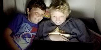 children negative effects screen time