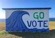 Maui Hookipa Go Vote