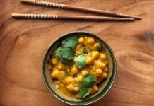 Kabocha squash curry