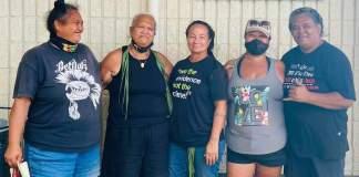 Maui desecration grandmothers standup