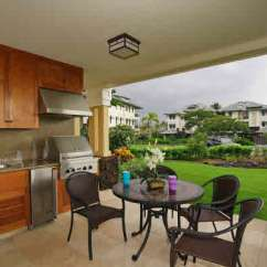 Kitchen Islan White Islands Kolea Luxury Condos In Waikoloa, Hawaii