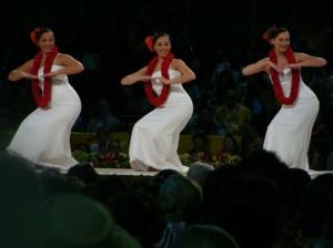 Halau Na Lei Kaumaka O Uka earned a fifth place finish in the hula auana division.  The women danced to the song Nani Wale Ku'u 'Ike.
