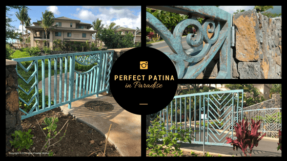 Perfect Patina in Paradise