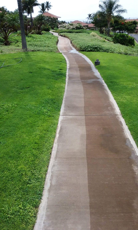 Maui Sidewalk Cleaning