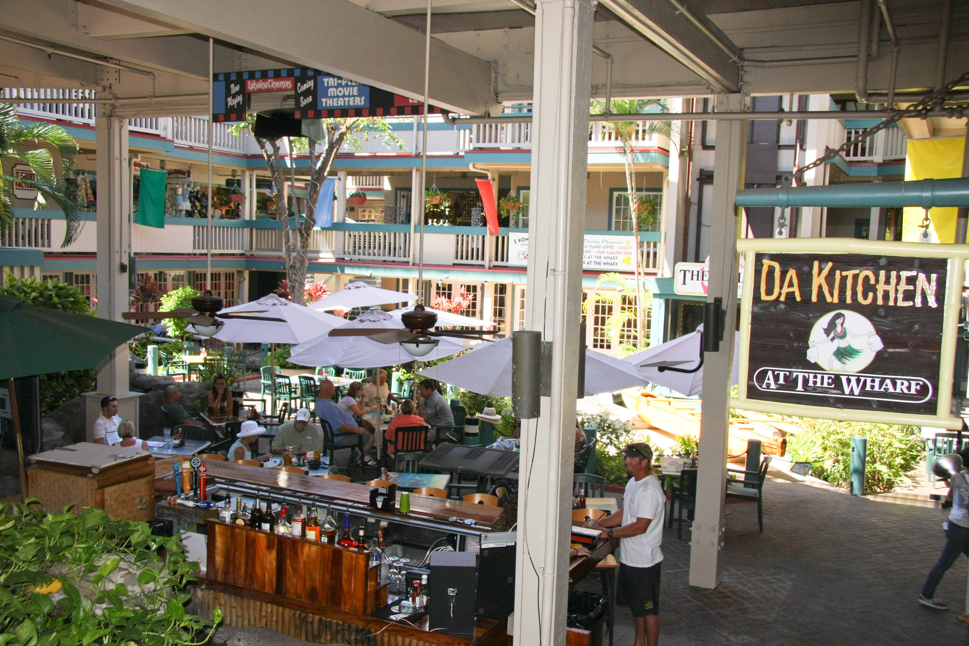 dakitchenwharf2  Maui Restaurants Blog