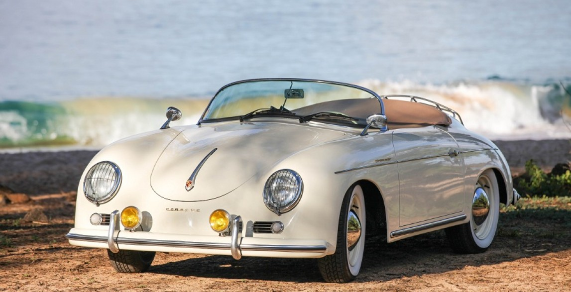 Lani Classic Ivory 1957 Porsche 356 Speedster