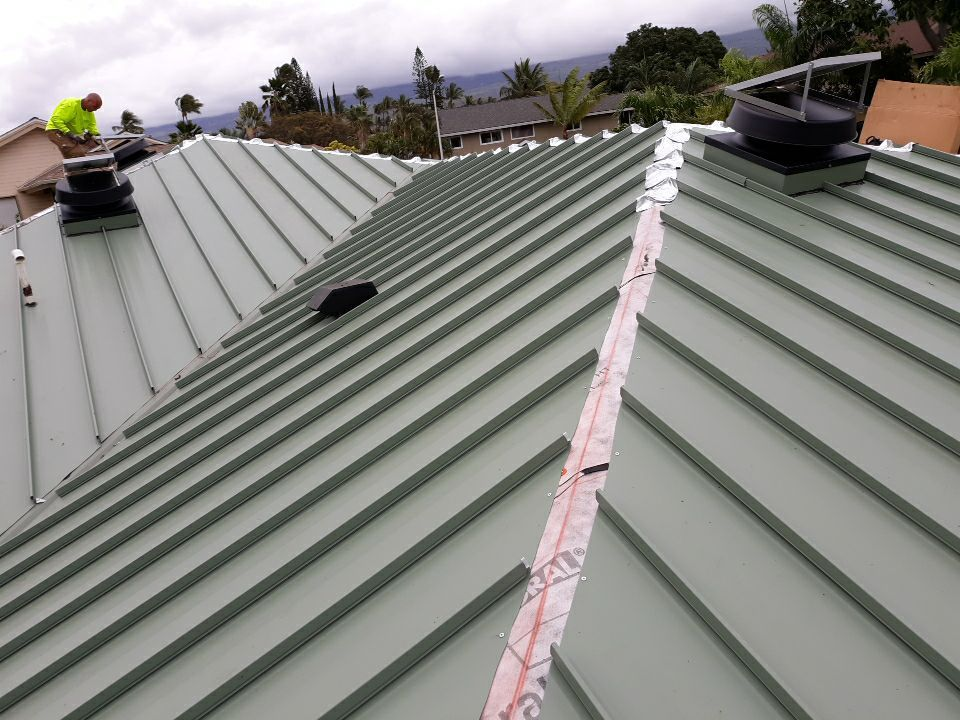 metal roofing maui roofing contractor