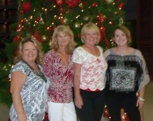 Athena, LuAnn, Mary & Elaine