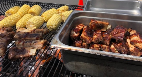 Tender and Tasty BBQ Ribs and Corn on the Cob