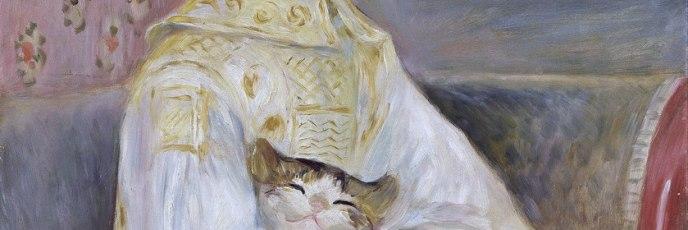 Pierre-Auguste Renoir - L'enfant au chat