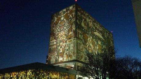 Biblioteca Central de la UNAM - Patrimonio Cultural de la Humanidad