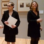 Doctora Sara Baz Sánchez, directora del Museo Nacional de Arte (Izquierda) y Elena Navarro, directora del Festival FotoMéxico 2017 (derecha).