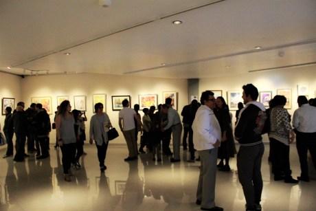 """Inauguración de la exposición """"Maestros y Alumnos 2018"""" en el Museo Nacional de la Acuarela, Alfredo Guati Rojo"""