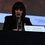 Arquitecta Claudia Patricia Santa Ana Zaldívar, directora general del Instituto de Cultura de Aguascalientes.