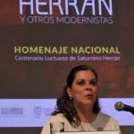 Doctora Sara Baz Sánchez, directora del Museo Nacional de Arte.