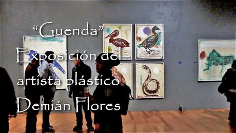 Guenda, exposición de Demián Flores