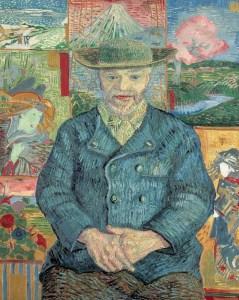 Retrato de Julien Tanguy, Francia 1887, de Vincent van Gogh, colección Museo Rodín, conferencia «José Juan Tablada, coleccionista de exotismos».