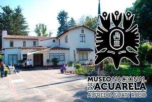Instalaciones del Museo Nacional de la Acuarela, Alfredo Guati Rojo. Fotografía de Alejandro Linares García del año 2010.