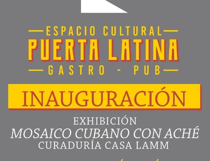 La inauguración del Espacio Cultural Puerta Latina será el próximo sábado 10 de julio de este 2021, desde las 18:00 horas hasta las 21:00 horas. La ubicación es en la calle de Mesones No. 56, colonia Centro de San Miguel de Allende, Guanajuato.