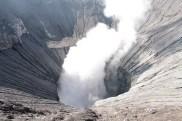 Lubang kawah Gunung Bromo