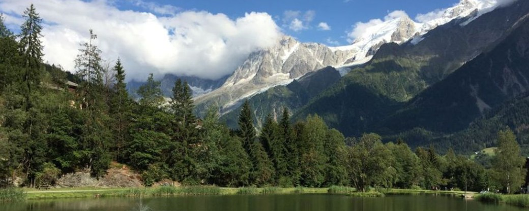Apaisée Lake des Chavenst