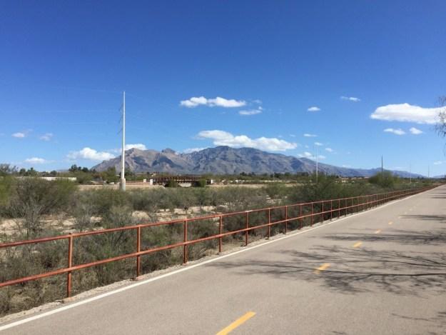Rillito River Trail. Tucson, AZ