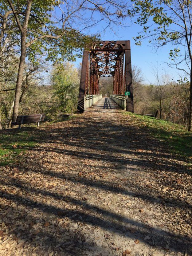 One of the many bridges on the Katy.