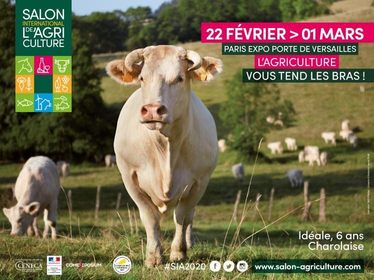 Save the Date 29/02 Débat télévisé au Salon de l'agriculture #SIA2020