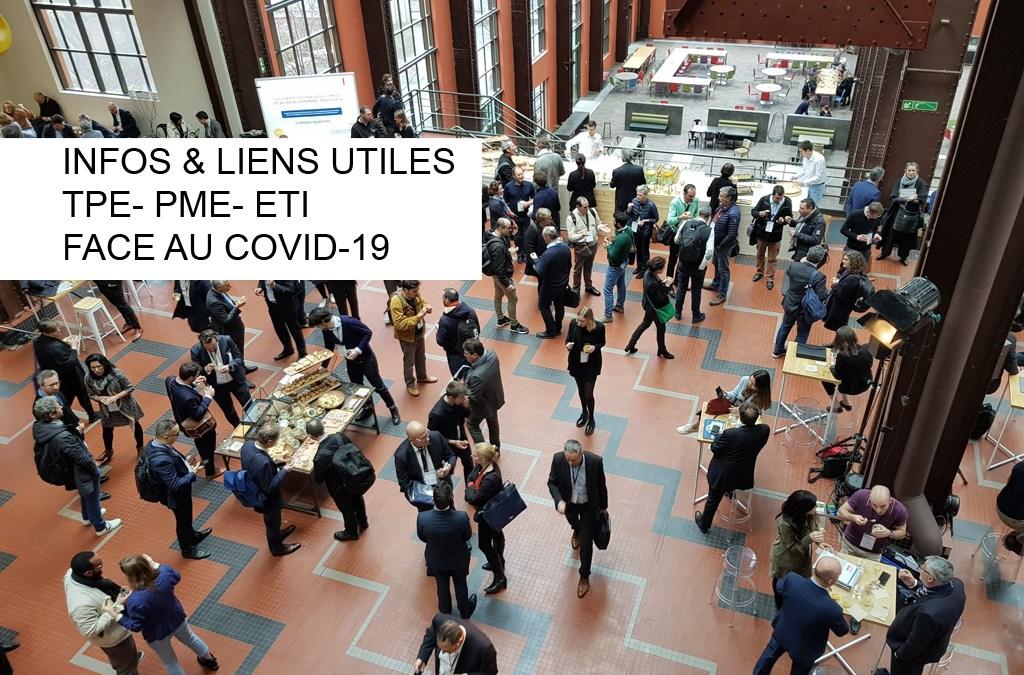 COVID-19  Liens utiles Entreprises face au COVID-19
