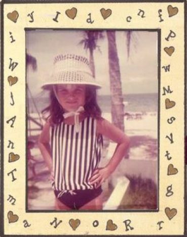 Even as a preschooler, I was a woman on a mission!