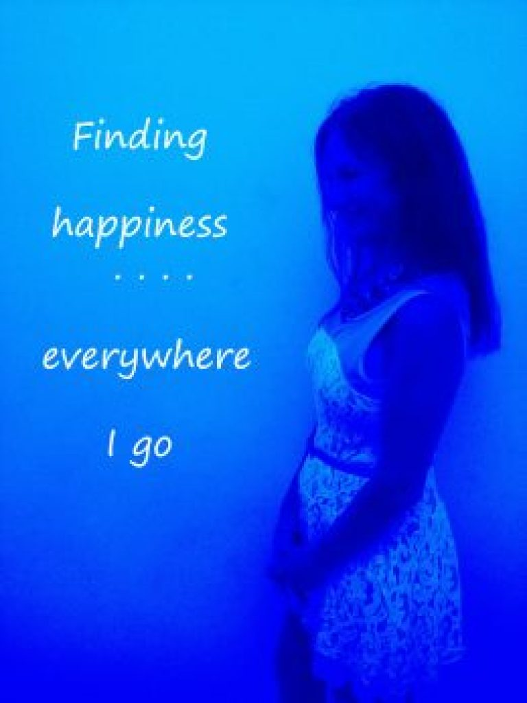 Even in blue times, happiness and reasons for gratefulness can still be found