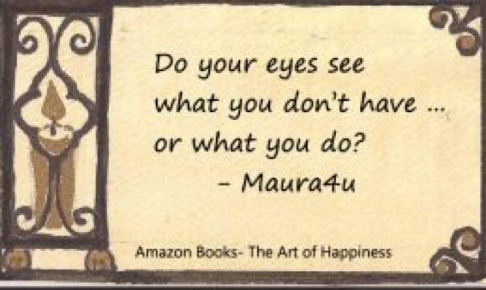Maura Sweeney, author of Maura4u - The Art of Happiness