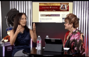 Maura Sweeney Media Guest with former HSN show host Barbara Marville on Prime Time TV