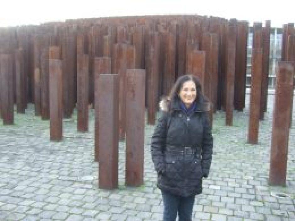 Maura Sweeney in Budapest Hungary