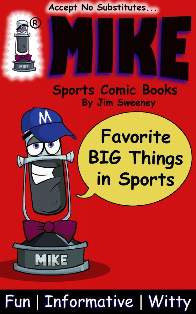MIKE NBA Favorites: Sports Comic Books (Favorites Series Book 3)