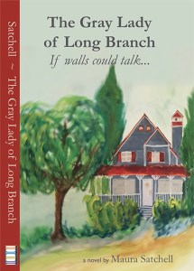 Gray Lady of Long Branch book cover front and spine
