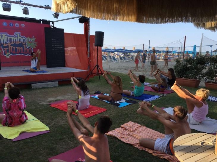 Maura Yoga Sea Lion Pescara