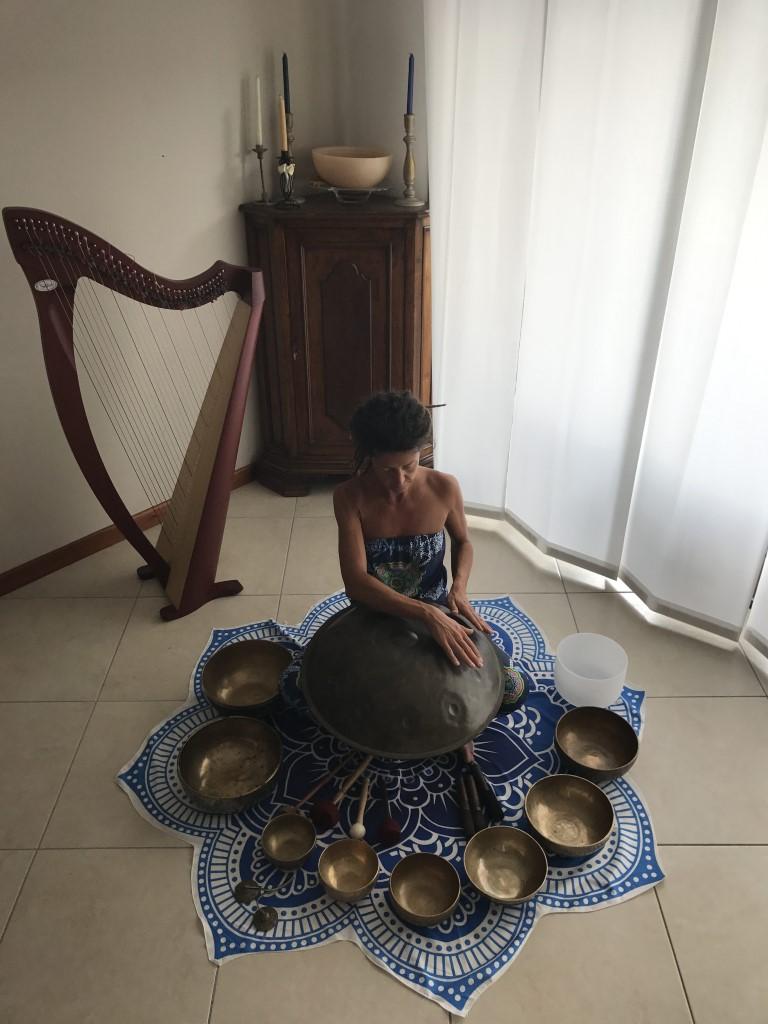 Hang Drum,Campane Tibetane, Maura Yoga, Meditazione,Armonia.