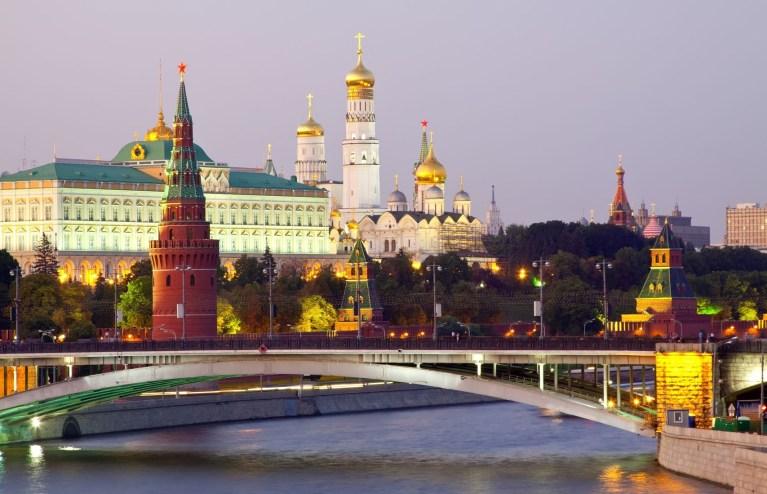 American Professor in Russia