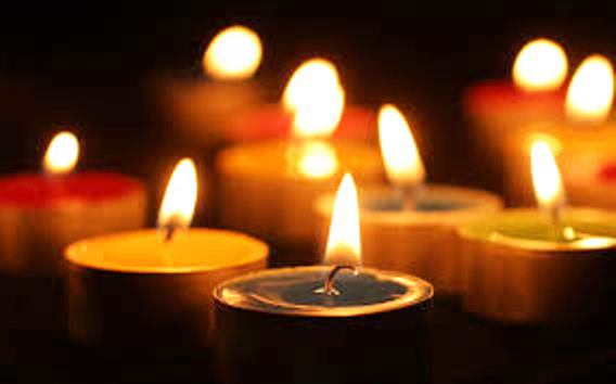 Candlelit vigils for victims